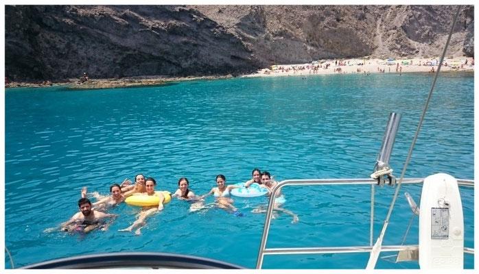 despedida de solteras en barco velero Murcia