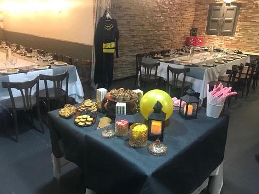 salón interior restaurante Los Ventanales Murcia