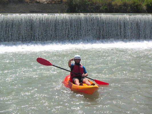 descenso al Río Segura en kayak