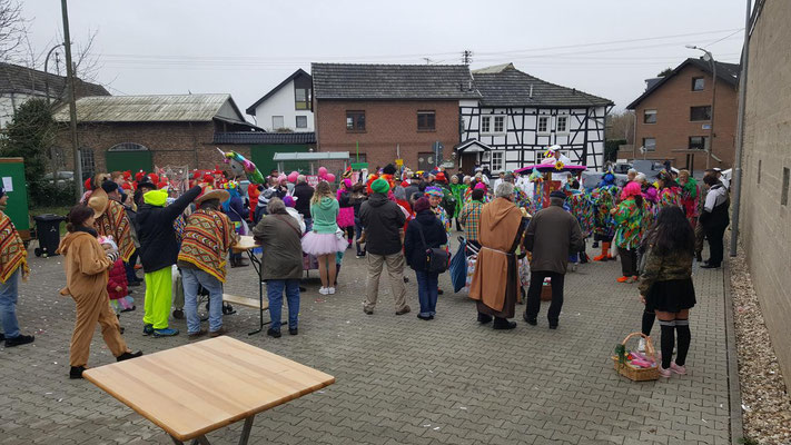 Niederdrees Karnevalszug 2018 Spielmannszug Echo