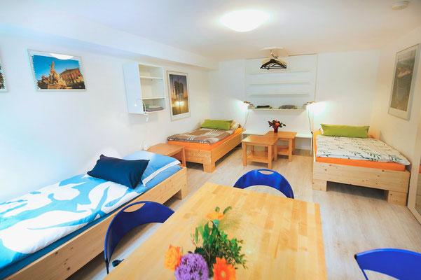 Bereich A, Raum 2 (3 Betten)