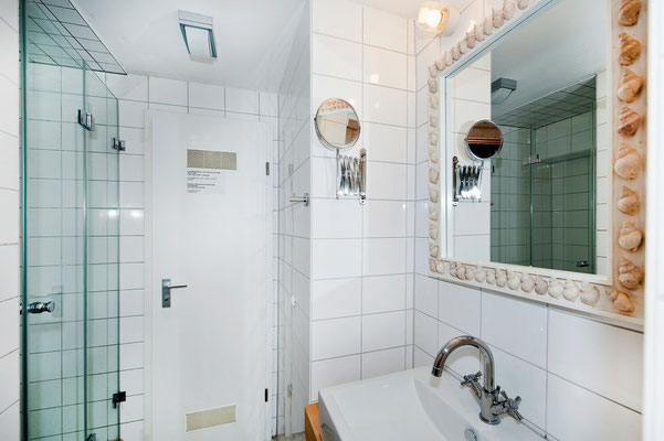 Area B, shower