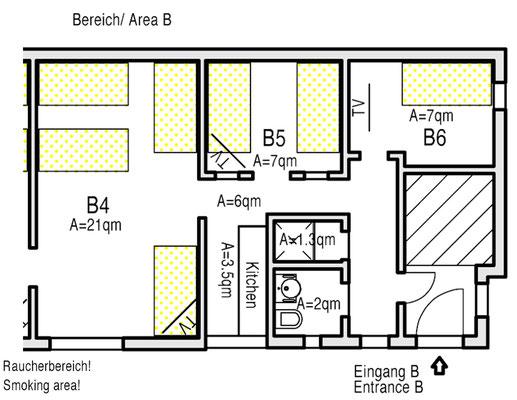 Ground plot Area B