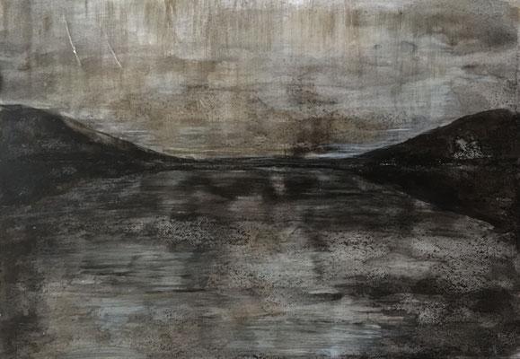 2017, encre et cirage, 29x42 cm