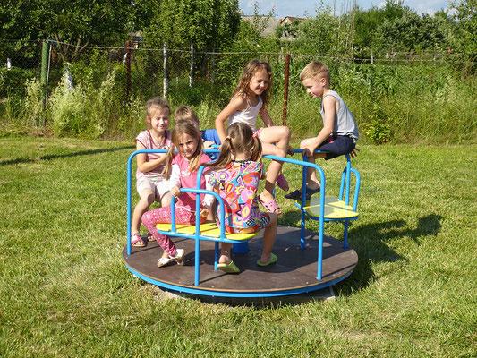 Neuer Kinderspielplatz