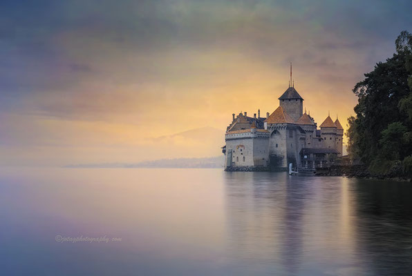 Lago Leman, Suiza.