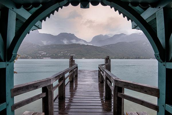 Lago de Annecy, Francia.