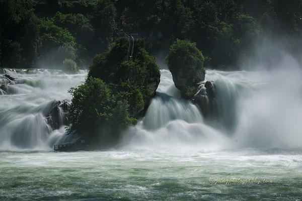 Las Cataratas del Rin, Suiza.