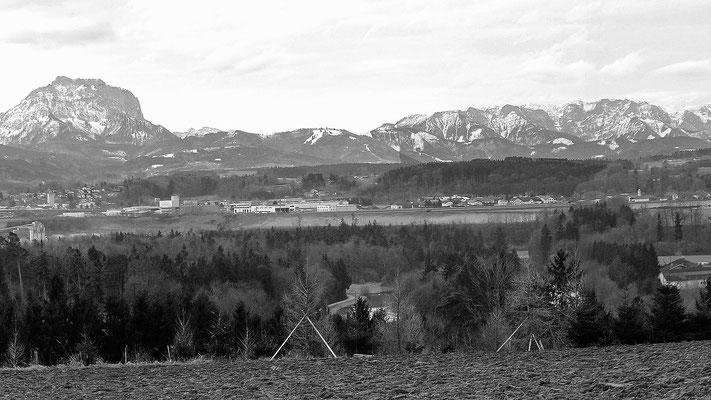 Blick von Reuharting Richtung Vorchdorf