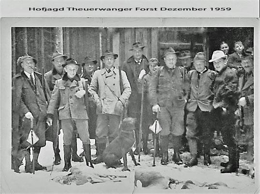 Hofjagd im Theuerwanger Forst