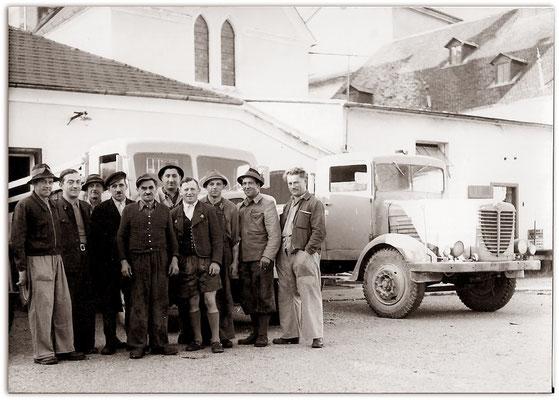 Mitarbeiter der Brauerei Eggenberg