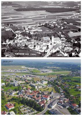Vorchdorf 1967 und 2017