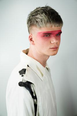 Photo: Stephan Schneemann Hair & Make-up: Backstage Hairconcept / Stephan Schneemann & Make-up Society / Natalia Model: Hugo