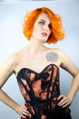 Photo: Stephan Schneemann Hair & Make-up: Stephan Schnemann & Jasmina Model: Pauline
