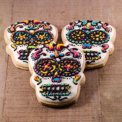 Day of the Death skull koekjes