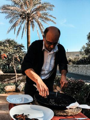 Paella im Restaurante S'era