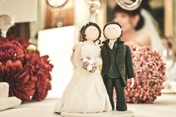 Brautpaarfigur-auf-Kuchen