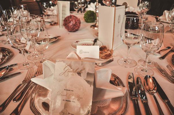Tischgedeck-Hochzeit