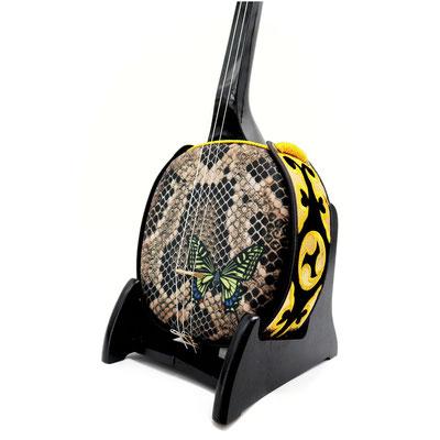 デザイン三線 アゲハ蝶の画像