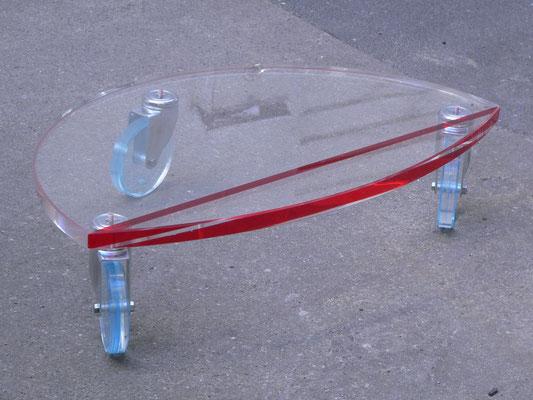 rollwagen plexiglas acrylglas