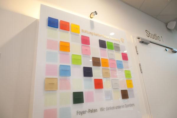 präsentation tafel plexiglas acrylglas farbig