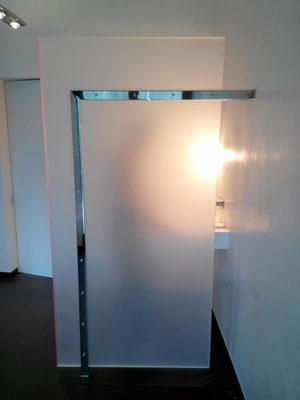 trennwand raumtrenner badezimmer plexiglas acrylglas
