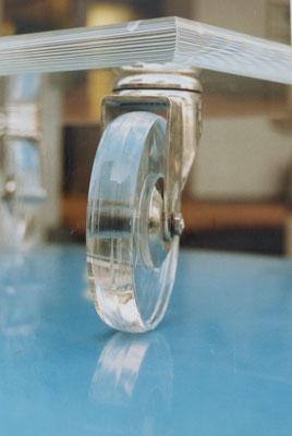 möbel rad plexiglas acrylglas