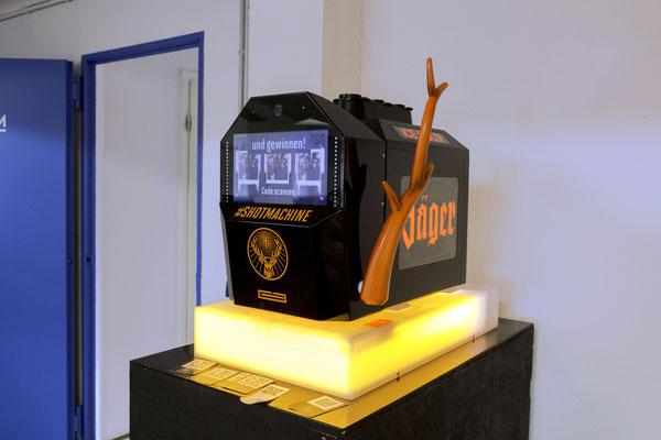 shotmachine modellbau jägermeister
