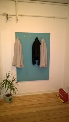 garderobe plexiglas