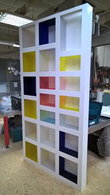 regal plexiglas acrylglas bunt möbel
