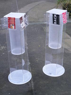 flyerhalter acrylglas