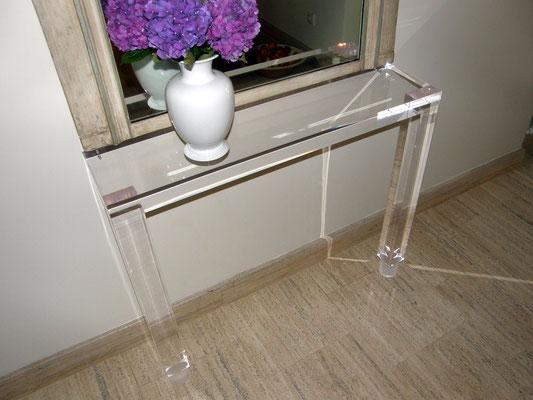 konsole plexiglas acrylglas möbel