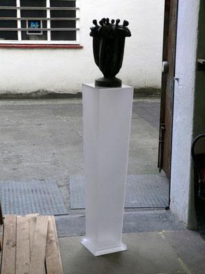 säule kunst plexiglas acrylglas
