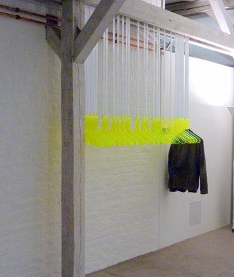 garderobe plexiglas acrylglas