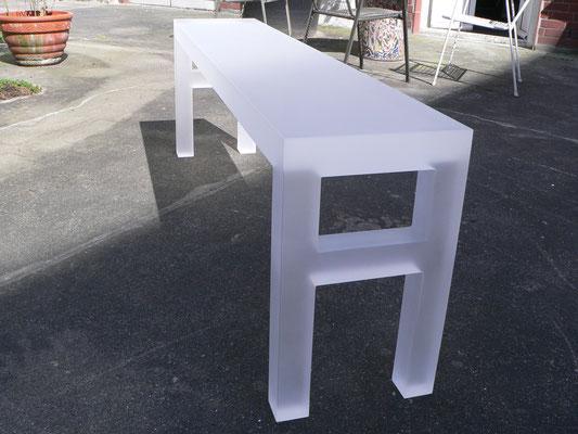 sitzbank acrylglas