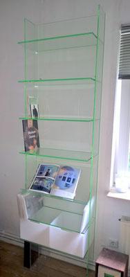 regal plexiglas acrylglas möbel