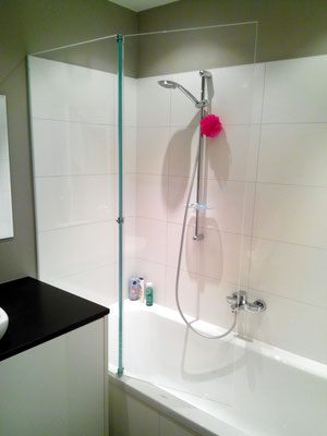 badezimmer duschwand plexiglas acrylglas