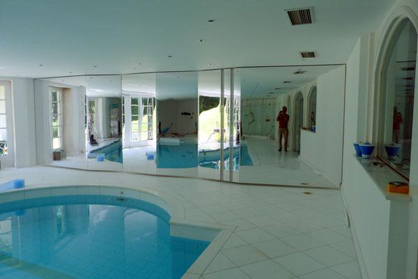 spiegel schwimmbad plexiglas acrylglas