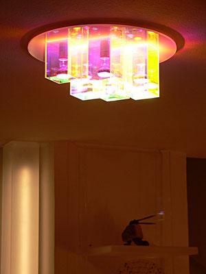 deckenlampe plexiglas