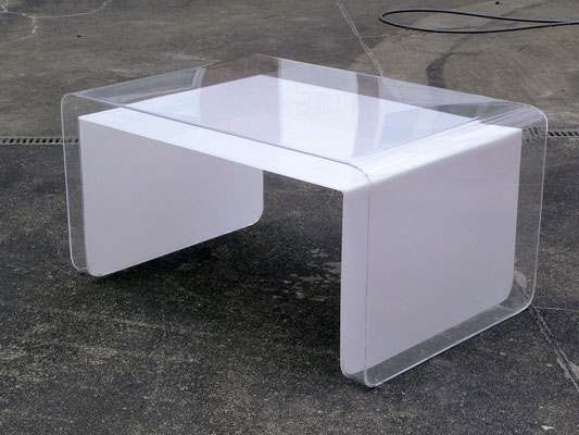 couchtisch plexiglas acrylglas