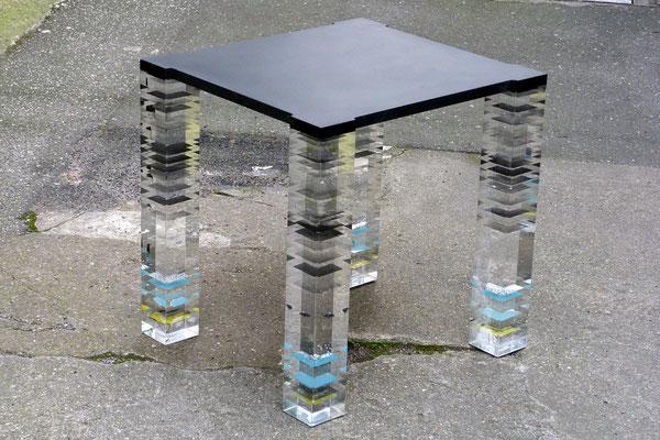 beistelltisch plexiglas acrylglas möbel