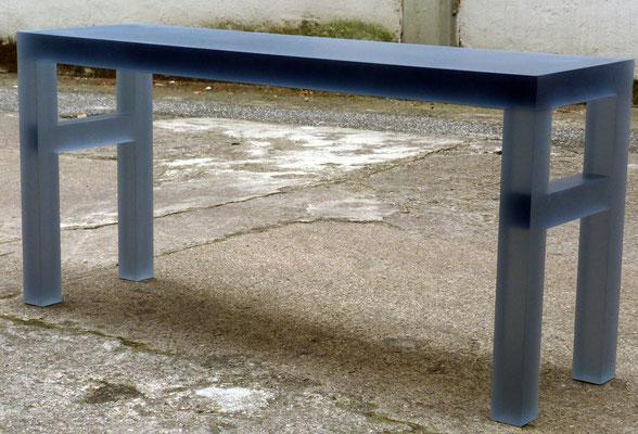 plexiglas acrylglas sitzbank möbel