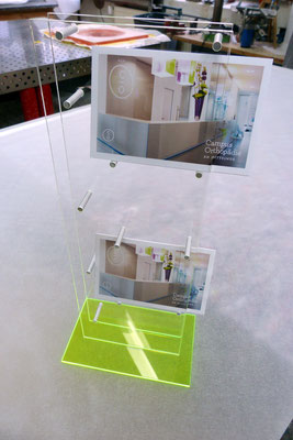 flyerhalter plexiglas