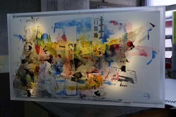 bilderrahmen kunst plexiglas