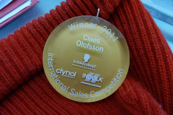 acrylglas medaille
