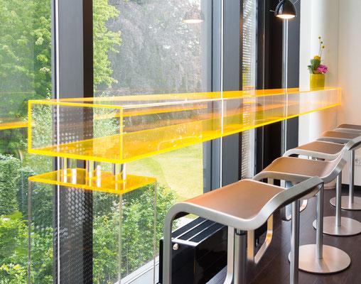 tresen arztpraxis wartezimmer möbel plexiglas acrylglas