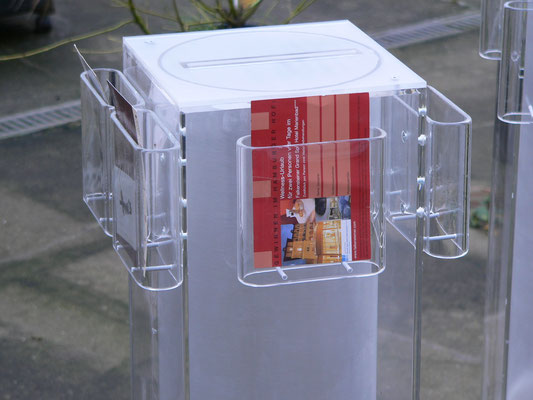flyerhalter plexiglas acrylglas