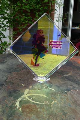 pokal award plexiglas acrylglas gravur