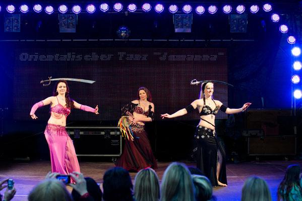 Säbel Tanz , Marina ,Jutta und Ich .