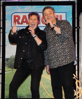 Hessel (RadioNL) duetje in de Brabanthallen